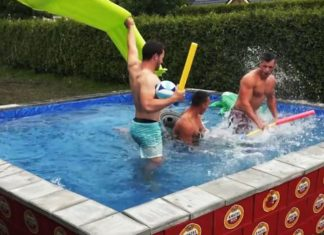 DIY Beer Box Pool