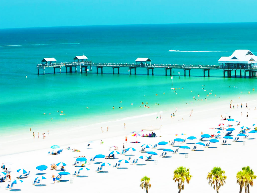 Clearest Water In The World Clearwater Beach Florida Top 1 Beach In Usa