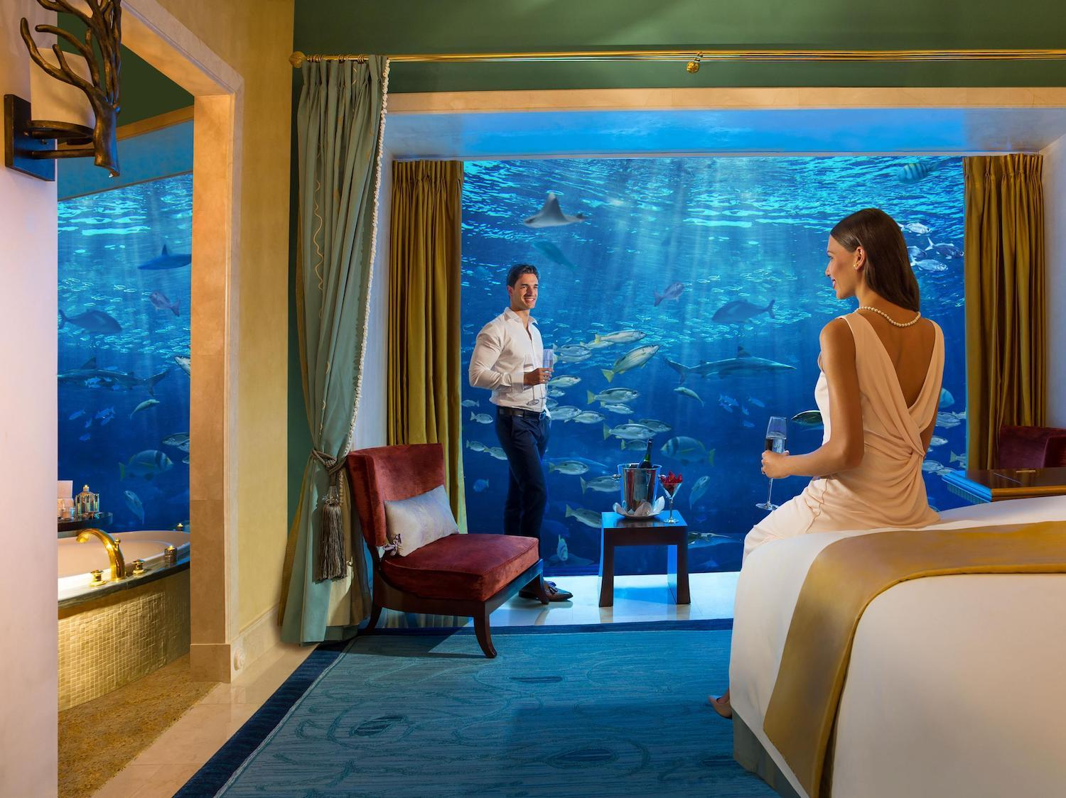 These Coolest Undersea Hotels and Resorts Will Take Your