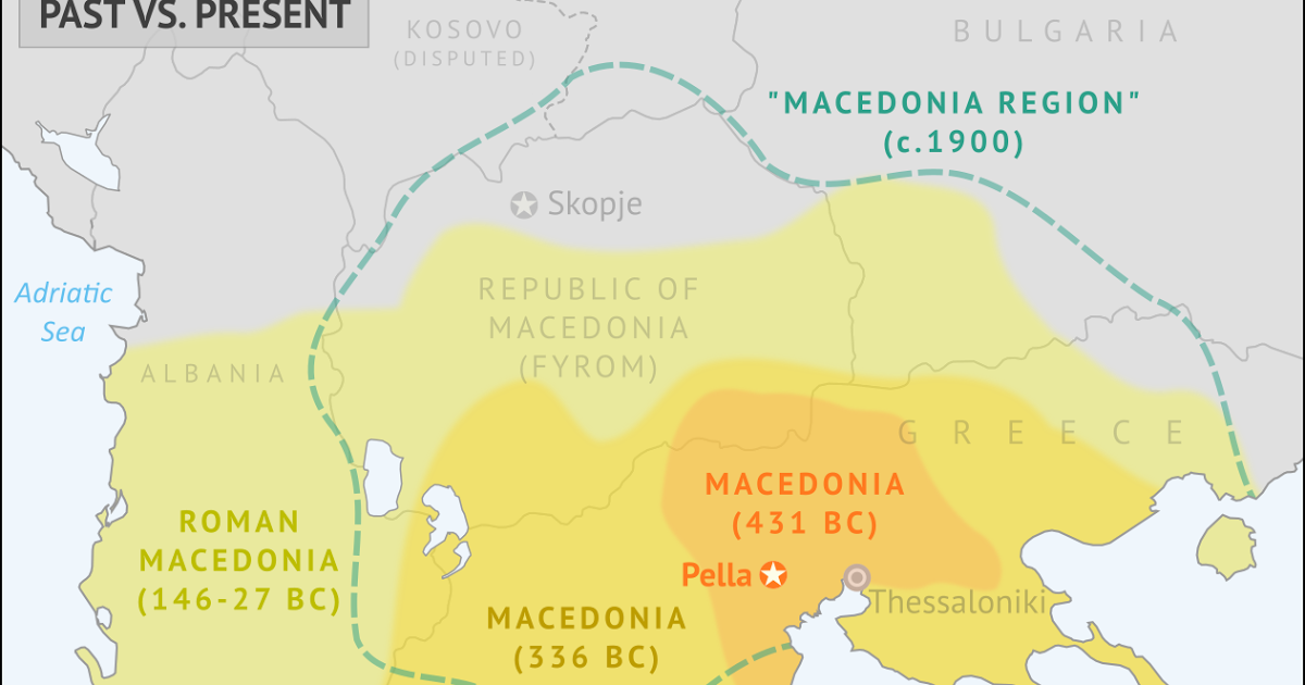 Pella Greece Map.Macedonia Why Is A Name So Important Awesomegreece Top Greek